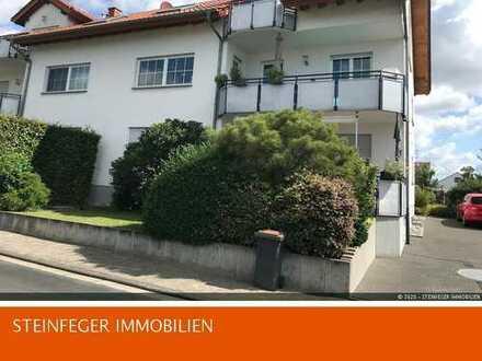 Wöllstadt: Sehr helle 3-Z-Whg. mit Kellerapartment in Feldrandlage zum 01.10.2020 zu vermieten