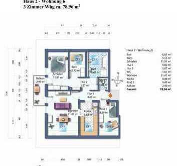 Haus 2 Wohnung 6 Dachgeschoss Wohnung