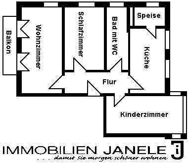 Großzügige, top gepflegte 3-Zimmer-Wohnung in Maxhütte-Haidhof