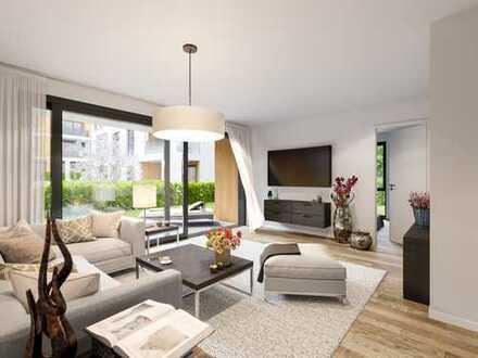 PANDION LEON - Schöne 3-Zimmer-Gartenwohnungen mit Tageslichtbädern und Südterrasse