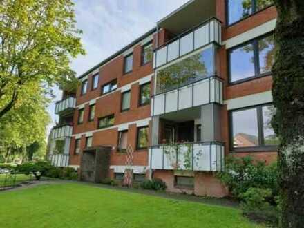 Sonnige 3-4 Zimmer-Wohnung mit Balkon und Einbauküche Friesischer Berg/ Westliche Höhe