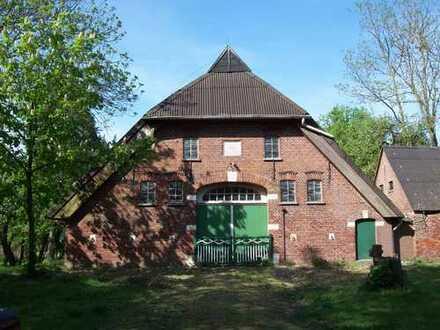 Denkmalgeschütztes, sanierungsbedürftiges Bauernhaus in ländlicher Lage