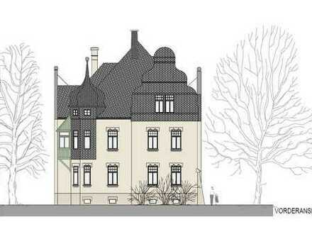 Exklusive Dachgeschosswohnung in Jugendstilvilla mit erhöhter Abschreibung