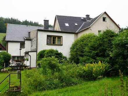 Wohnhaus im landschaftlich schön gelegenen Jöhstadt