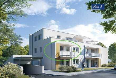 Qualität für Ihre Investition: 3-Zimmer Wohnung im kfW55 Haus