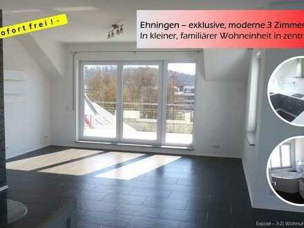Ehningen – exklusive, moderne 3 Zimmer – 78,6qm !