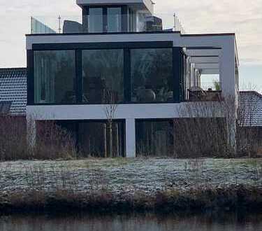 *EXKLUSIVE 179m² PENTHOUSE WOHNUNG - 3 Zimmer plus 2x Dachterrasse - Kanallage