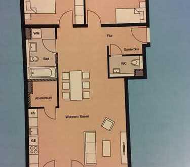 Zimmer in 96qm Luxus-Neubauwohnung (Erstbezug)