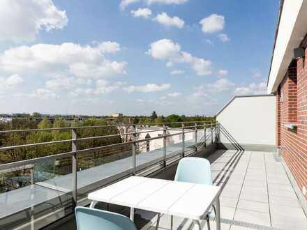 o Prov.! Traum Dachterrassen-Wohnung mit Gebirgsblick und 2 Bädern