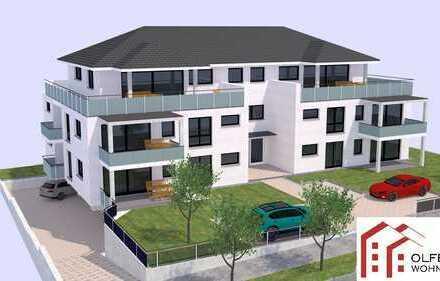 Außen grün, Innen licht! Sonnige 3-Zi.-Wohnung + 90m² Garten