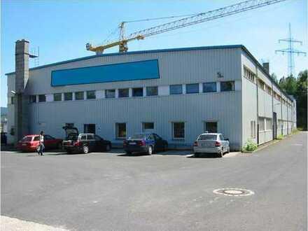 Lagergebäude, Produktionshalle, Freifläche