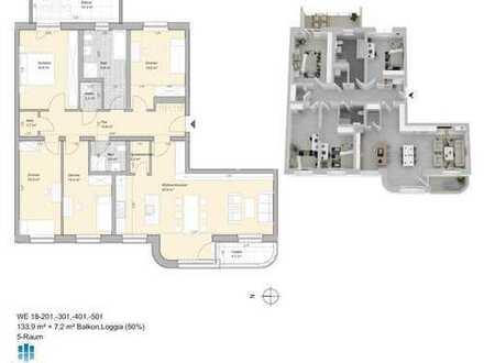 LiVING Salomon - Graphisches Viertel Zauberhafte 5 Raumwohnungen Reservieren Sie jetzt! Musterwohn