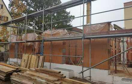Neubau Doppelhaushälfte in Massivbauweise, Bezugsfertig, mit Keller, Doppel-Garage