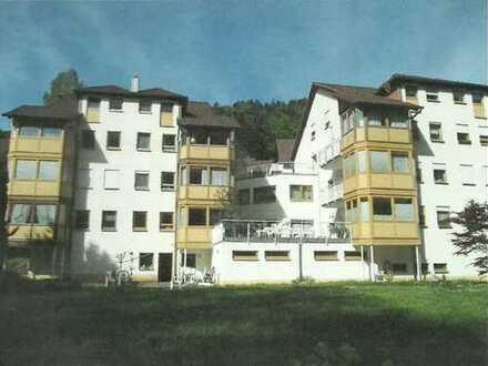 Betreutes Wohnen**Vermietete 1,5 Zimmerwohnung in der Kurstadt Bad Herrenalb zu verkaufen**