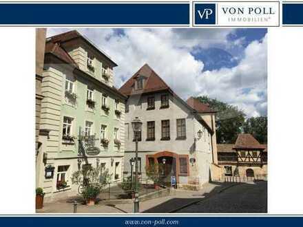 Umsatzstarkes Boutique-Hotel/Restaurant inmitten der Ansbacher Altstadt