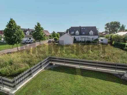 Großer Garten - Nähe zu Ingolstadt: Voll erschlossenes Baugrundstück für Einfamilienhaus