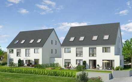 ** Wohnen in Mering**ruhig gelegene Neubau-Doppelhaushälfte**Nur noch 1 Haus verfügbar**