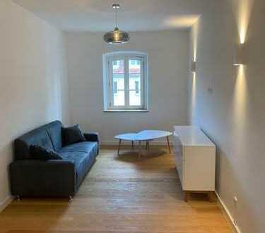 Wohnen an der Isar - sanierte und möblierte 2-Zimmer Altbauwohnung zur Miete