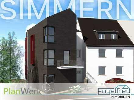 Nr. 8 – Wohnen im Zentrum der Kreisstadt: 3-Zimmer-Eigentumswohnung im DG (ohne Schrägen) mit Aufzug