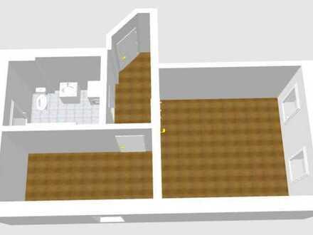 1 Raum Wohnung mit 40 m² Erstbezug nach Kernsanierung in Oelsnitz