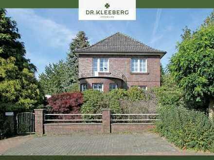 Klassische Stadtvilla in begehrter Wohnlage von Steinfurt Burgsteinfurt