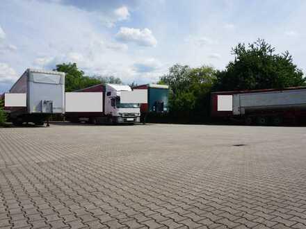 Stellplätze/Freifläche/Außenlager, 1.000 qm bis 2.500 qm, gepflastert, zu vermieten