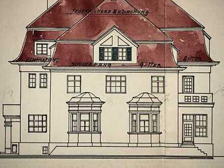 E & Co - Rarität! Historische Jugendstilvilla mit ca. 1.500 qm Wohn-Nutzfl. in absoluter Bestlage.
