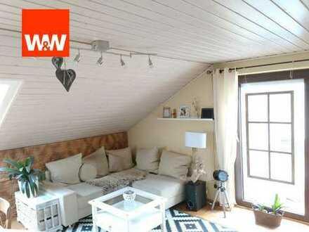 Kleine Dachgeschosswohnung in Enzweihingen -  Ideal für Singles oder Pärchen