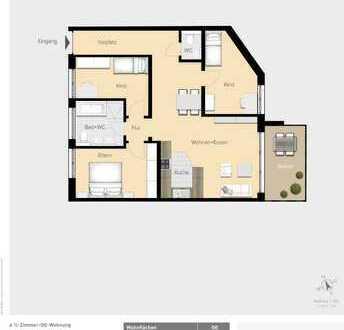 Idyllische 4,5-Zimmer Wohnung für Ihr Zuhause W07
