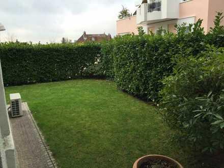 Garden apartment / 2 bedroom luxury flat in the heart of Wiesbaden