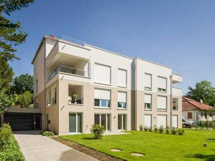 In Stadtvilla MAXIMILIAN - Besondere Neubau-Terrassenwohnung mit Privatgarten!