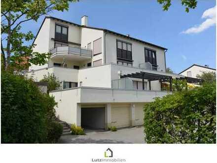 In Top-Lage am Hörnle - Single-Apartment mit großer Dachterrasse