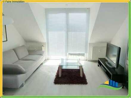 *Zentral gelegene 2-Zimmer DG-Wohnung + 25m² ausgebautem Dachboden*