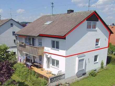 Wunderschöne Wohnung über zwei Etagen