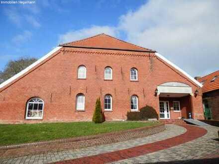 zwischen Emden und Pewsum! Ebenerdige 2-Zimmer-Wohnung in ländlicher Umgebung zu vermieten!