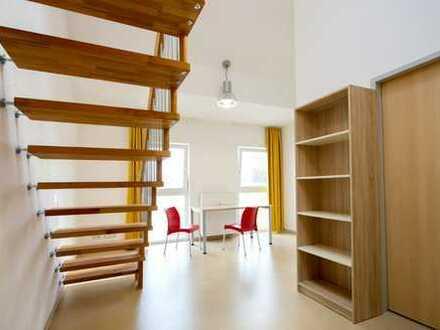 Moderne Maisonette im Neubau! Zentral & teilmöbliert!