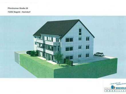 Erstbezug - hochwertige Maisonettenwohnung mit Balkon, Aufzug und Garage in Nagold - Hochdorf