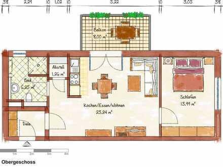 Neubau-2-Zimmer-Wohnung in Schriesheim