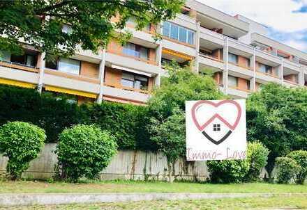 Frei ab sofort! Schöne 1 ZKB, ca 35qm, Balkon, EBK in Göggingen inkl TG Platz- Uninähe!