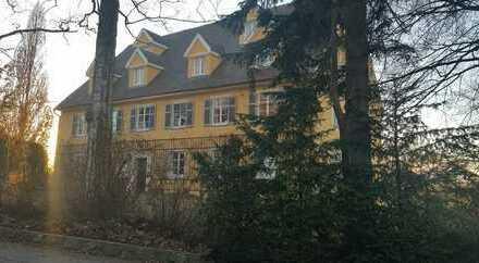 Lichtdurchflutete 3-Zimmer-Wohnung in barockem Haus mit Garten