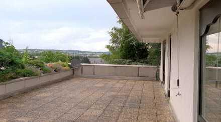 2 Zimmer Terrassenhaus-Wohnung Am Stettberg in Balingen (66 m² Dachterrasse)