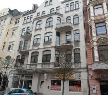 Altbau-Wohnung im Quartier *Alte Bürger* Studenten-/Familien-Wohnung, 5 ZKB, WC, Balkon