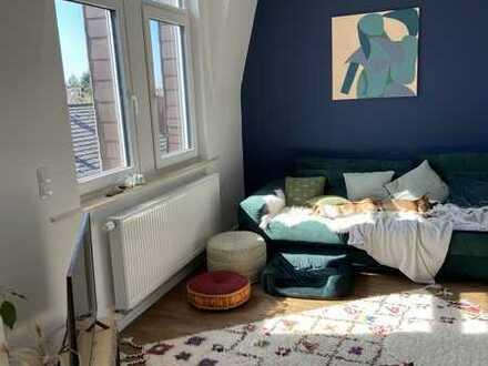 RESERVIERT Exklusive, geräumige und neuwertige 3,5-Zimmer Maisonette-Wohnung mit Balkon in Mannheim