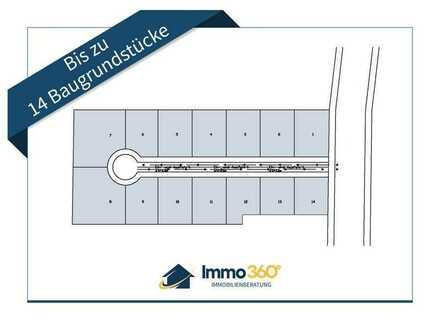 Baugrundstücke für mehrere Einfamilienhäuser & Mehrfamilienhäuser