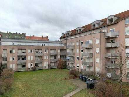 Zentrumsnah und ruhig ...  Vermietetes Einzimmer-Apartment mit Südloggia ...