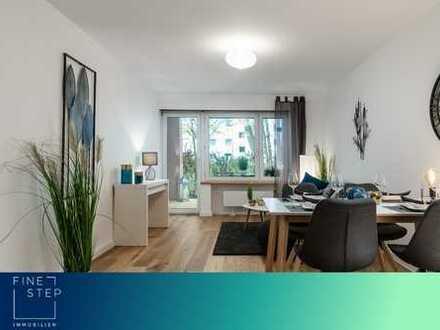 Zum Erstbezug nach Renovierung: Attraktive 3-Zimmer-Wohnung mit Terrasse