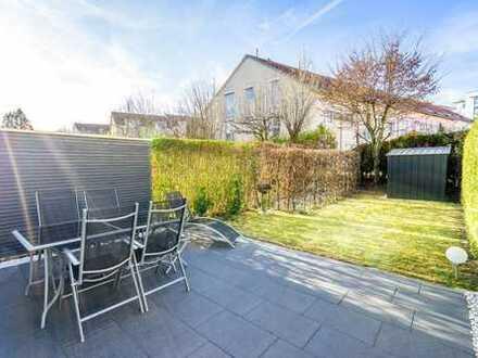Attraktive 4 Zi. Maisonette-Wohnung mit Garten in naturnaher & familienfreundlicher Umgebung