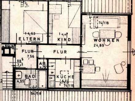 Schöne drei Zimmer Wohnung in Bielefeld, Brake
