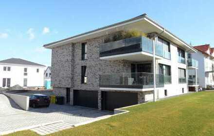 -- Exklusive 3 Zi-Erdgeschoß-Wohnung mit Balkon und Garage in Bingen-Büdesheim --