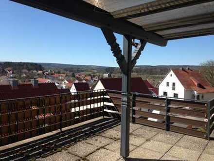 sonnige Aussichten zentral in Hünfeld
